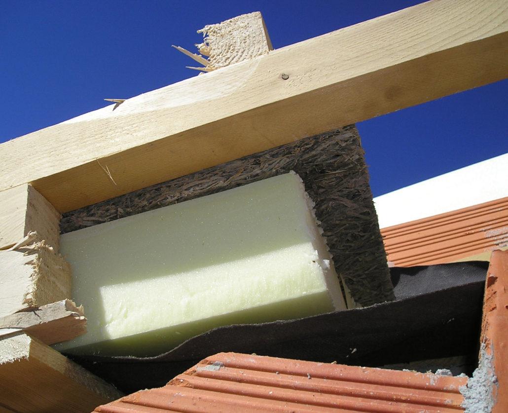 sandwich isolante tetto