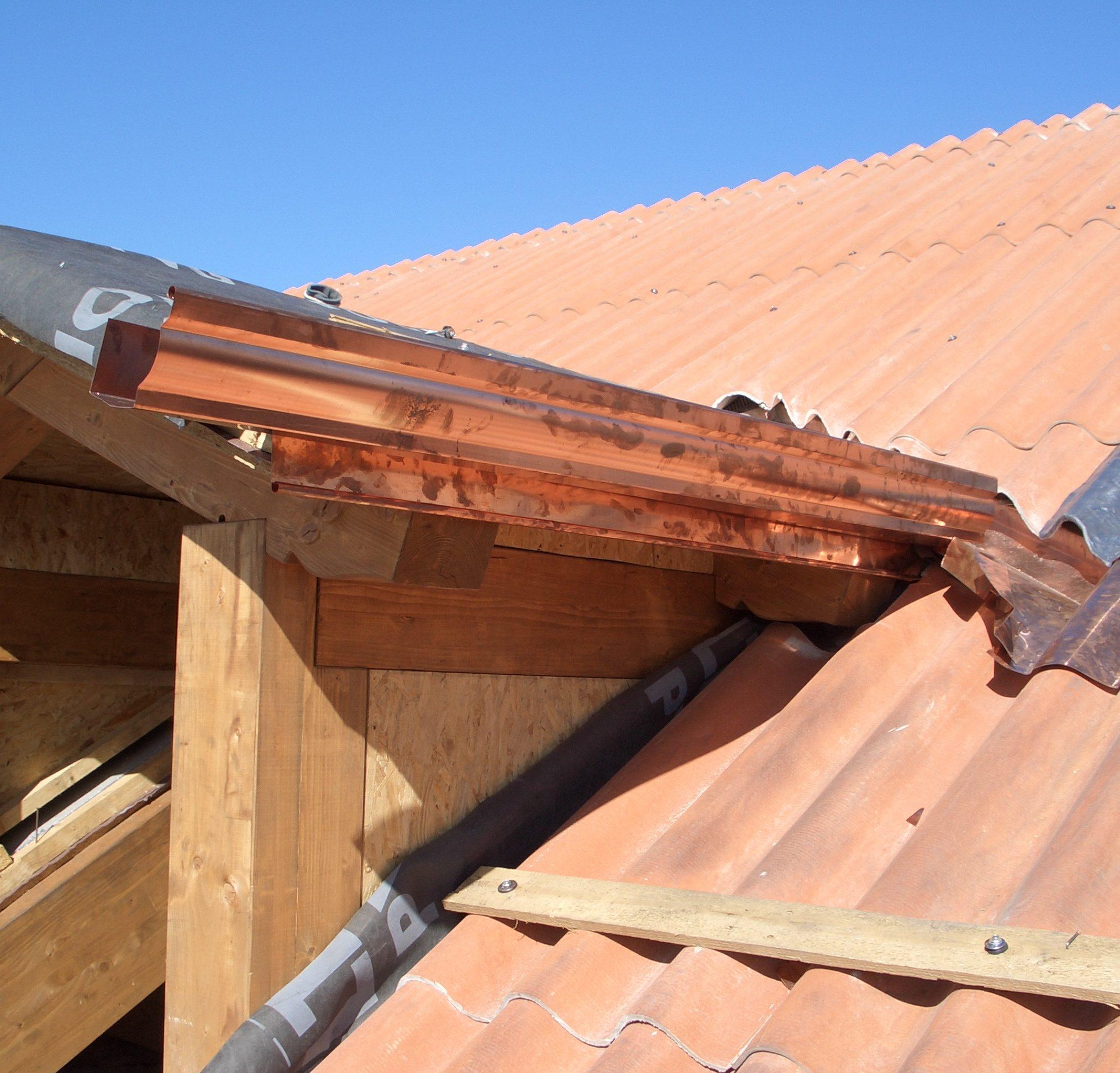 lattoneria in rame, rifacimento tetti in legno